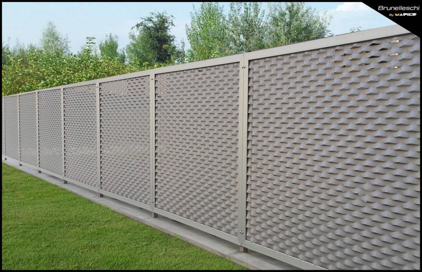 Cl ture mod le brunelleschi railing aluminium design for Modele de cloture